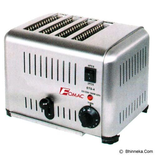 FOMAC Bread Toaster 4 Slice [BTT-DS4] - Toaster
